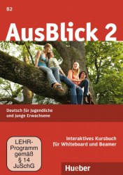 AusBlick 2 Interaktives Kursbuch für Whiteboard und Beamer DVD-ROM / Ресурси для інтерактивної дошки
