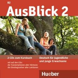 AusBlick 2 Audio-CDs (2) zum Kursbuch / Аудіо диск