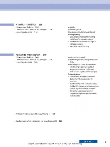 AusBlick 3 Arbeitsbuch mit Audio-CD / Робочий зошит