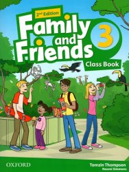 Family and Friends 3 (2nd Edition) Class Book / Підручник для учня