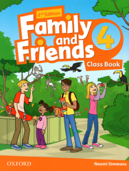Family and Friends 4 (2nd edition) Class Book / Підручник для учня