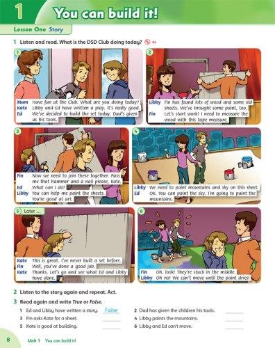 Family and Friends 5 (2nd edition) Class Book / Підручник для учня