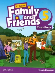 Family and Friends 5 (2nd edition) Class Book / Підручник для учня