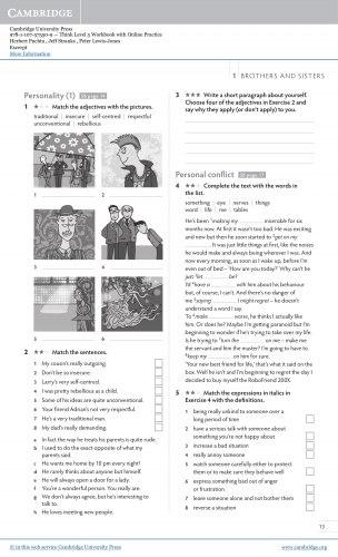 Think 5 Workbook with Online Practice / Робочий зошит