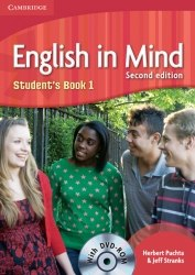 English in Mind 1 (2nd Edition) Students Book / DVD-ROM / Підручник для учня