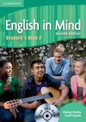 English in Mind 2 (2nd Edition) Students Book / DVD-ROM / Підручник для учня