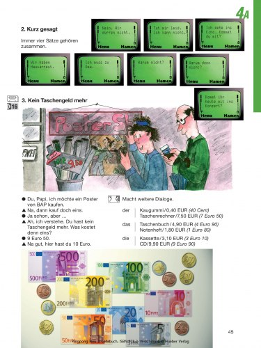Pingpong Neu 2 Lehrbuch / Підручник для учня