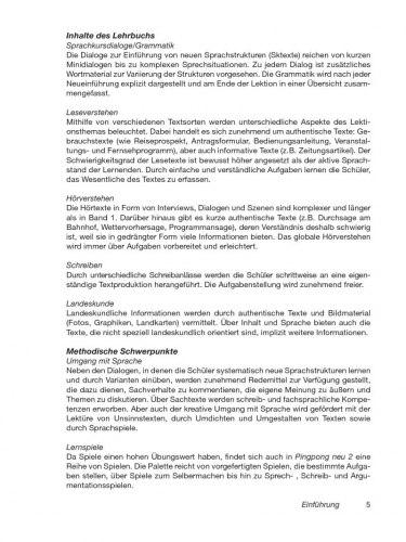 Pingpong Neu 2 Lehrerhandbuch / Підручник для вчителя