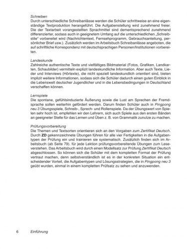 Pingpong Neu 3 Lehrerhandbuch / Підручник для вчителя