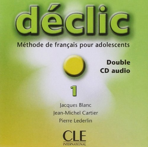 Déclic 1 Double CD audio / Аудіо диск