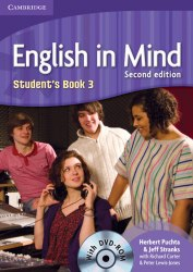 English in Mind 3 (2nd Edition) Students Book / DVD-ROM / Підручник для учня