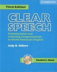 Clear Speech Third Edition Student's Book with Audio CD / Підручник для учня
