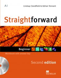Straightforward (2nd Edition) Beginner Workbook with key and Audio-CD / Робочий зошит