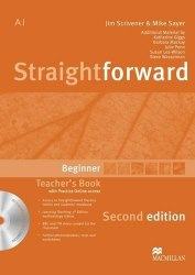 Straightforward (2nd Edition) Beginner Teacher's Book with CD-ROM and Practice Online access / Підручник для вчителя