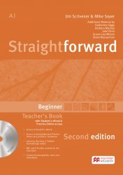 Straightforward (2nd Edition) Beginner Teacher's Book with Student's eBook and Practice Online Access / Підручник для вчителя