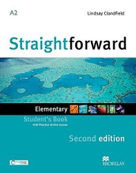 Straightforward (2nd Edition) Elementary Student's Book with Practice Online access / Підручник для учня