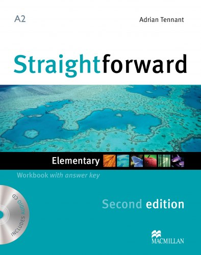 Straightforward (2nd Edition) Elementary Workbook with key and Audio-CD / Робочий зошит