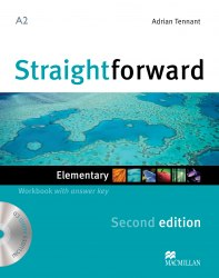 Straightforward (2nd Edition) Elementary Workbook with key and Audio-CD / Робочий зошит