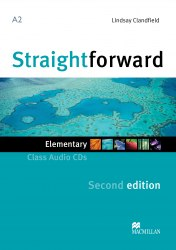Straightforward (2nd Edition) Elementary Class Audio CDs / Аудіо диск