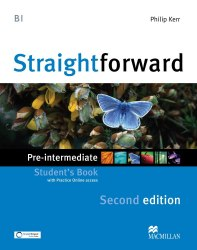 Straightforward (2nd Edition) Pre-Intermediate Student's Book with Practice Online access / Підручник для учня