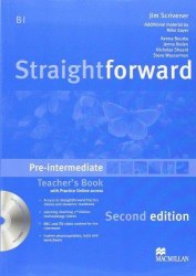 Straightforward (2nd Edition) Pre-Intermediate Teacher's Book with CD-ROM and Practice Online access / Підручник для вчителя