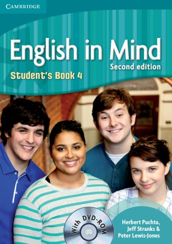 English in Mind 4 (2nd Edition) Students Book / DVD-ROM / Підручник для учня