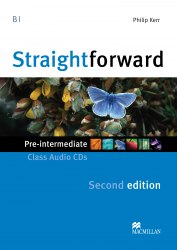 Straightforward (2nd Edition) Pre-Intermediate Class Audio CDs / Аудіо диск