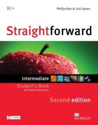 Straightforward (2nd Edition) Intermediate Student's Book with Practice Online access / Підручник для учня