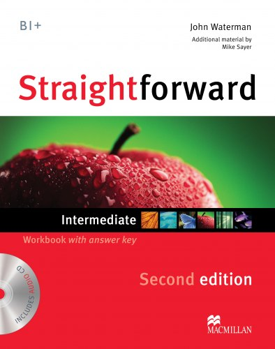 Straightforward (2nd Edition) Intermediate Workbook with key and Audio-CD / Робочий зошит