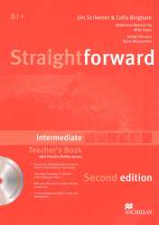 Straightforward (2nd Edition) Intermediate Teacher's Book with CD-ROM and Practice Online access / Підручник для вчителя