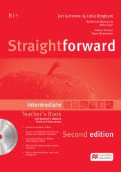 Straightforward (2nd Edition) Intermediate Teacher's Book with Student's eBook and Practice Online Access / Підручник для вчителя