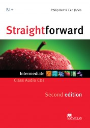 Straightforward (2nd Edition) Intermediate Class Audio CDs / Аудіо диск