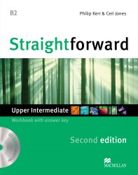 Straightforward (2nd Edition) Upper-Intermediate Workbook with key and Audio-CD / Робочий зошит
