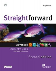 Straightforward (2nd Edition) Advanced Student's Book with Practice Online access / Підручник для учня