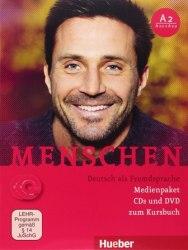 Menschen A2 Medienpaket (CDs und DVD zum Kursbuch) / Медіа пакет