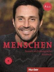 Menschen A2.1 Kursbuch mit DVD-ROM / Підручник для учня