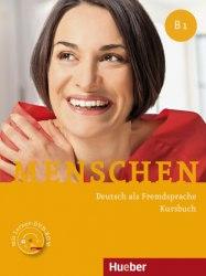 Menschen B1 Kursbuch mit DVD-ROM / Підручник для учня