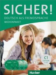 Sicher! C1 Medienpaket (2 Audio-CDs und 2 DVDs zum Kursbuch) Lektion 1-12 / Аудіо та відеоматеріали до підручника