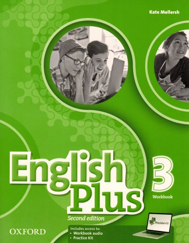 English Plus 3 (2nd Edition) Workbook with access to Practice Kit / Робочий зошит