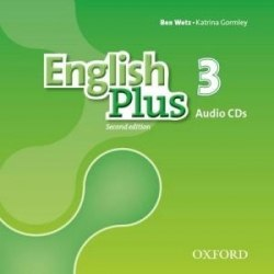 English Plus 3 (2nd Edition) Class Audio CDs / Аудіо диск