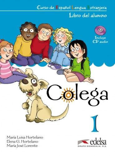 Colega 1 Libro del alumno + Libro de ejercicios + Audio CD / Підручник для учня з зошитом