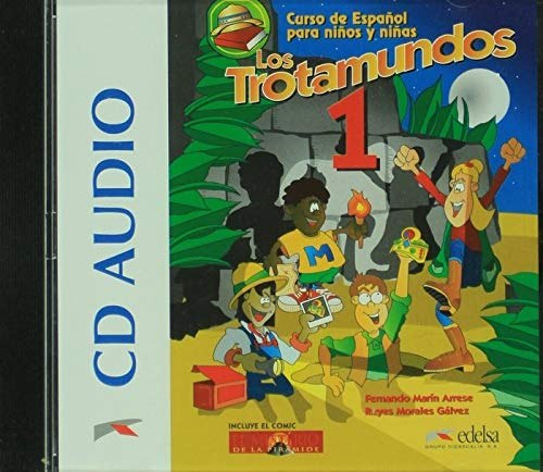 Los Trotamundos 1 Audio CD / Аудіо диск