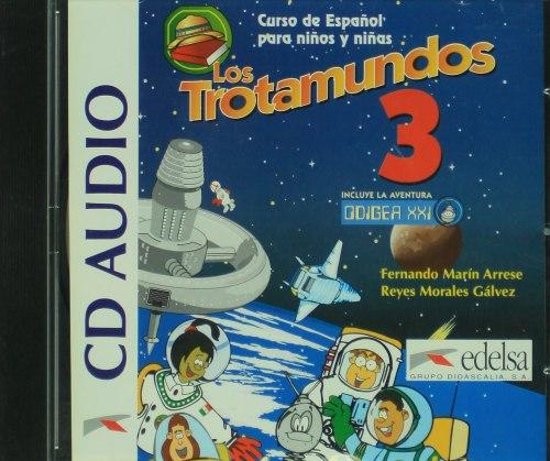 Los Trotamundos 3 Audio CD / Аудіо диск