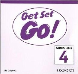 Get Set Go! 4 Audio CDs / Аудіо диск