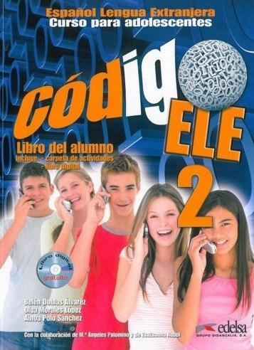 Codigo ELE 2 Libro del alumno + CD-ROM / Підручник для учня