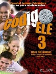 Codigo ELE 3 Libro del alumno + CD-ROM / Підручник для учня