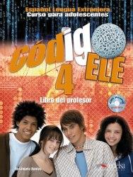 Codigo ELE 4 Libro del profesor + Audio CD / Підручник для вчителя