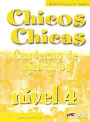 Chicos Chicas 4 Cuaderno de Ejercicios / Робочий зошит