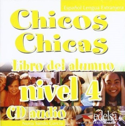 Chicos Chicas 4 Audio CD / Аудіо диск