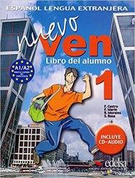 Nuevo Ven 1 Libro del alumno + Audio CD / Підручник для учня